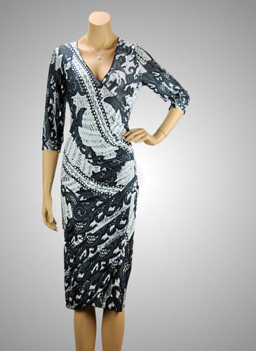 Missy Stretch Kleid Paisley