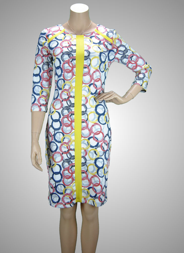 "Missy Stretch Kleid ""Circles"""